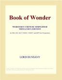 Book of Wonder (Webs...