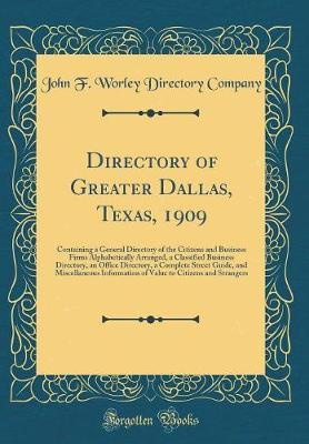 Directory of Greater Dallas, Texas, 1909