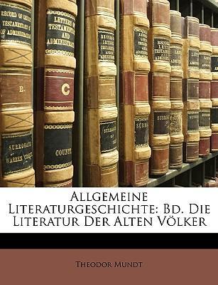 Allgemeine Literaturgeschichte