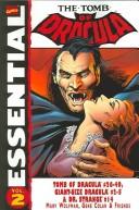 Essential Tomb of Dracula, Vol. 2