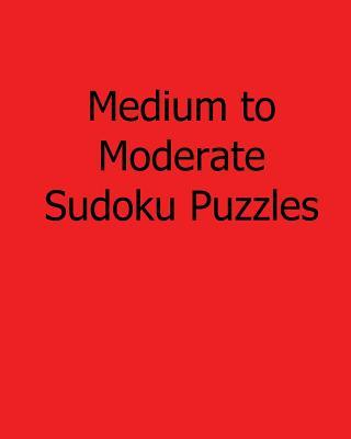 Medium to Moderate Sudoku Puzzles