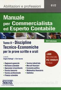 Manuale per commercialista ed esperto contabile - Vol. 2