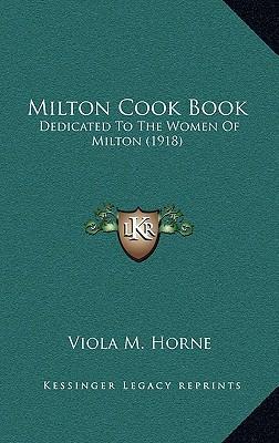 Milton Cook Book