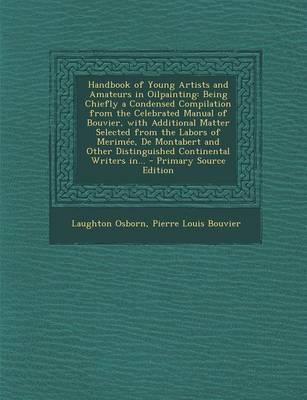 Handbook of Young Artists and Amateurs in Oilpainting