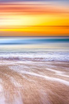 Colorful Beach Sunse...