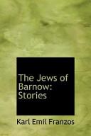 The Jews of Barnow: Stories