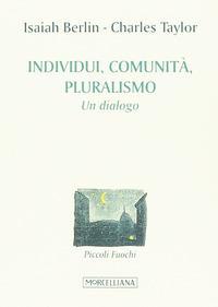 Individuo, pluralismo, comunità