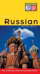 Essential Russian Phrase Book