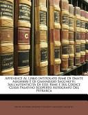 Appendice Al Libro Intitolato Rime Di Dante Alighieri E Di Giannozzo Sacchetti