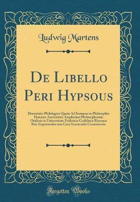 De Libello Peri Hypsous