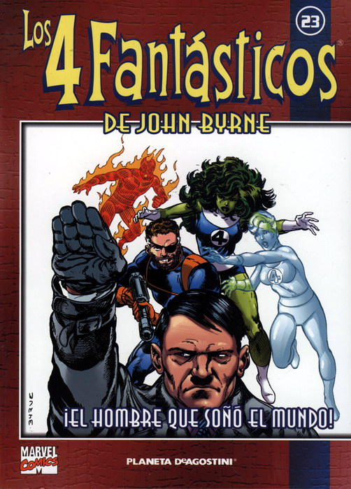 Coleccionable Los 4 Fantásticos de John Byrne #23 (de 25)