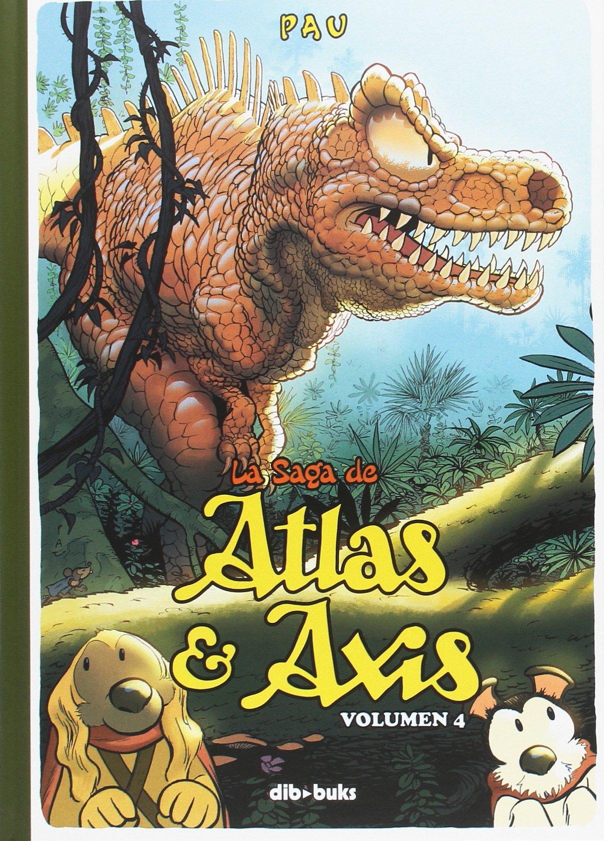 La saga de Atlas y Axis, Vol. 4