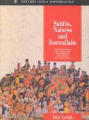 Sahibs, Nabobs and Boxwallahs