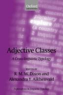 Adjective Classes