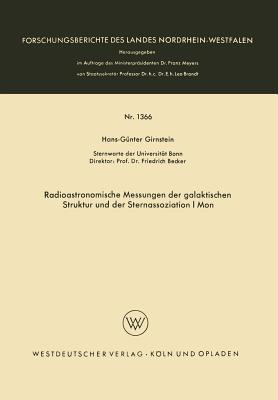 Radioastronomische Messungen Der Galaktischen Struktur Und Der Sternassoziation I Mon