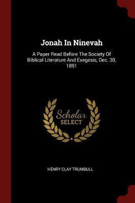 Jonah in Ninevah