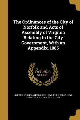 ORDINANCES OF THE CITY OF NORF