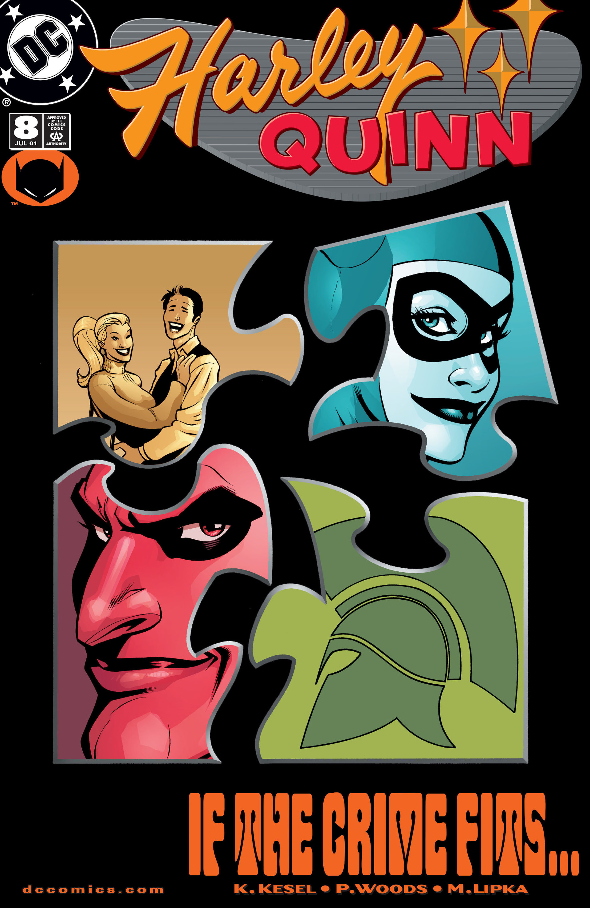 Harley Quinn Vol.1 #8