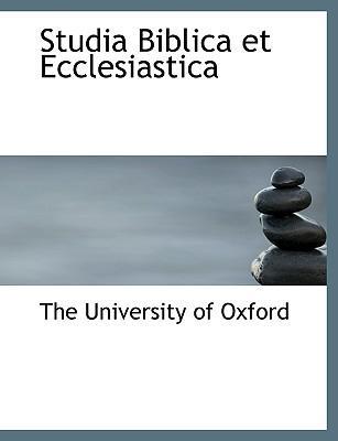 Studia Biblica et Ecclesiastica