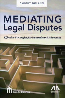 Meditating Legal Disputes