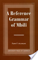 A Reference Grammar of Mbili