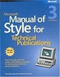 Microsoft Manual of Style for Technical Publications Third Edition