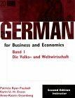 German for Business and Economics