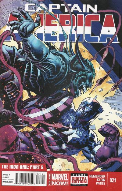 Captain America Vol.7 #21