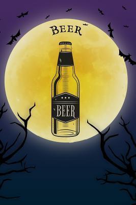 Beer Notebook Halloween Journal