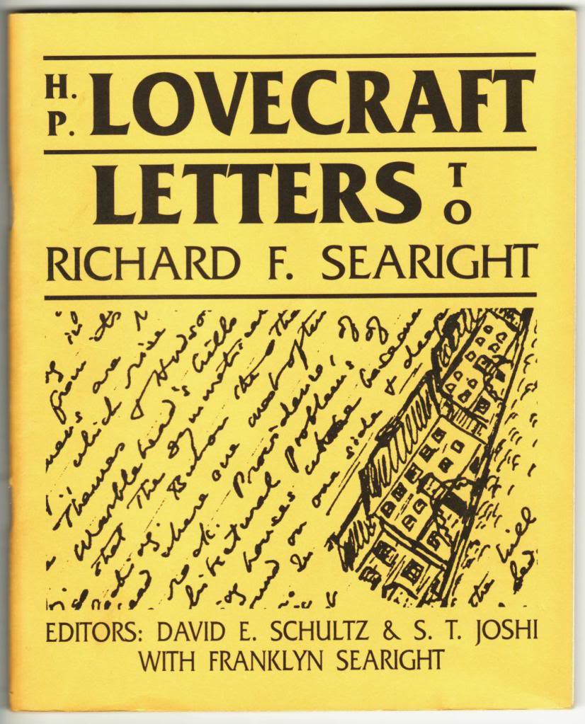Letters to Richard F. Searight