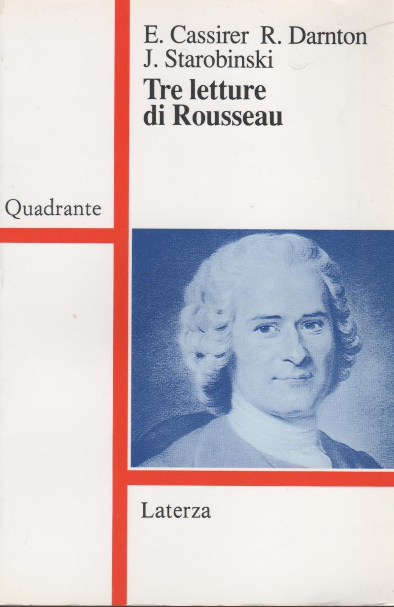Tre letture di Rousseau