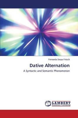 Dative Alternation