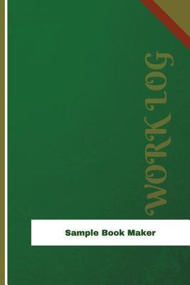 Sample Book Maker Work Log