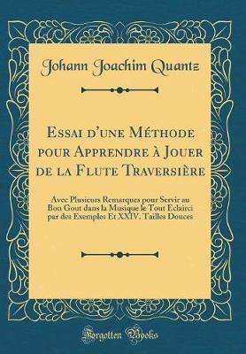 Essai d'une Méthode pour Apprendre à Jouer de la Flute Traversière