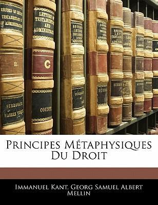 Principes Mtaphysiqu...