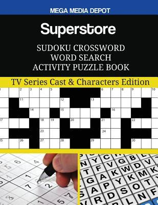 Superstore Sudoku Crossword Word Search Activity Puzzle Book