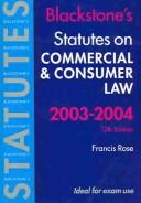 Statutes on Commerci...