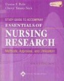 Study Guide to Accompany Essentials of Nursing Research