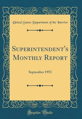 Superintendent's Mon...