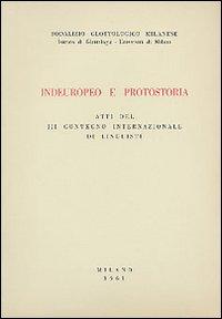 Indoeuropeo e protostoria