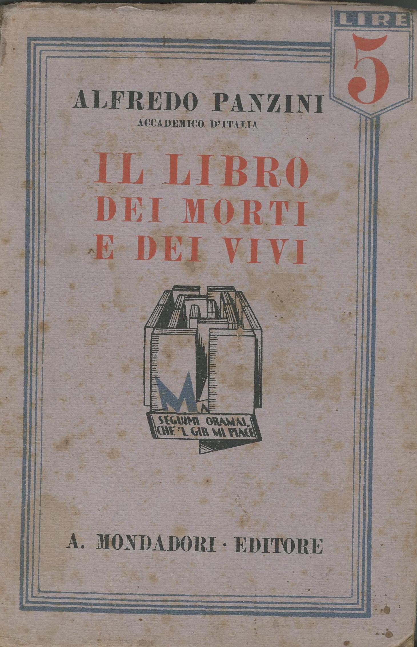 Il libro dei morti e dei vivi