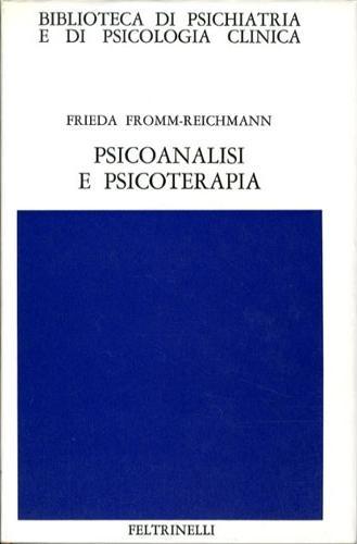 Psicoanalisi e psicoterapia