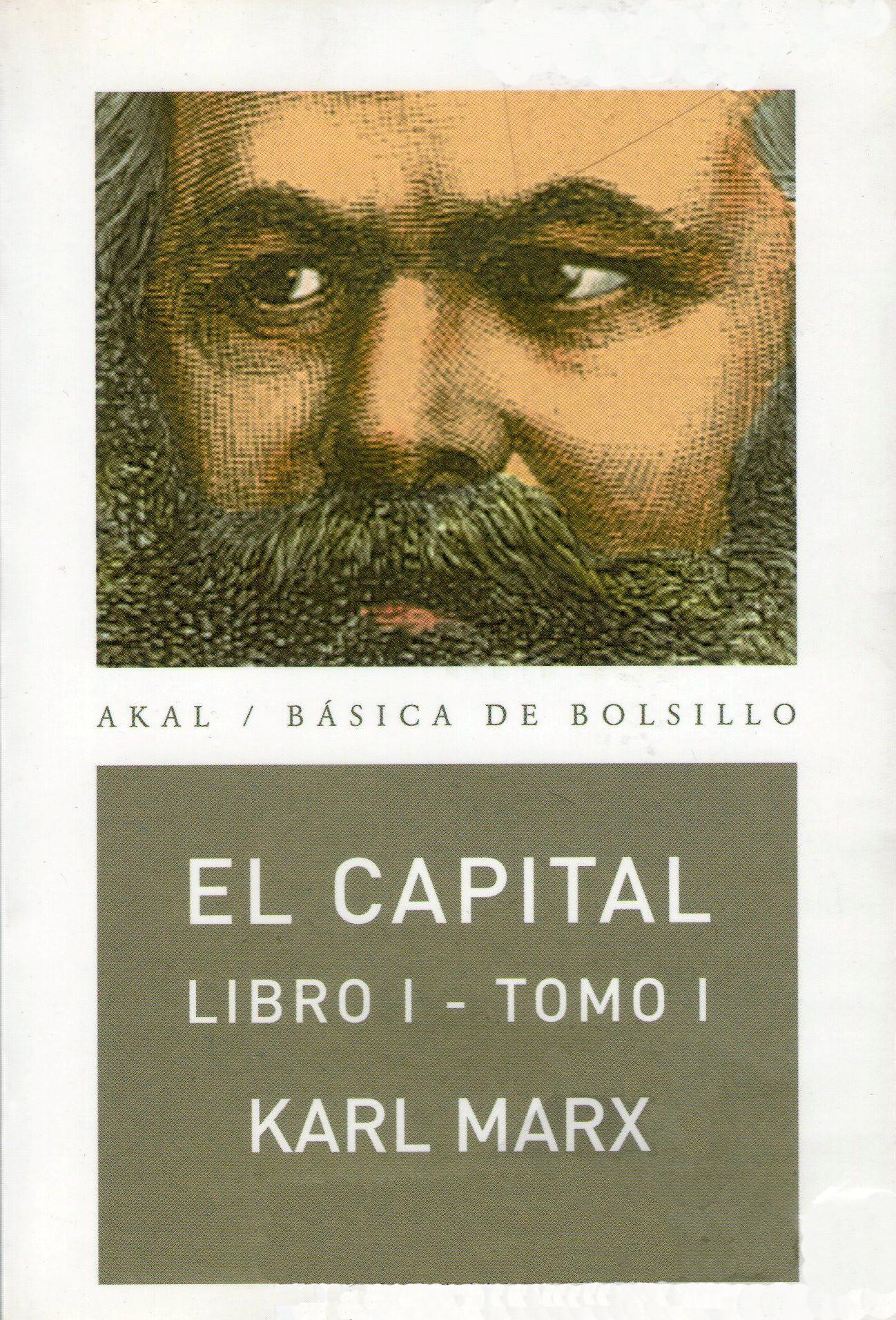 El capital, libro 1, tomo 1