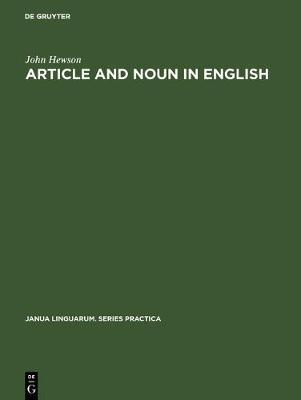 Article & Noun in English