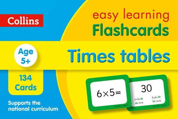Times Tables Flashcards (Collins Easy Learning KS2)