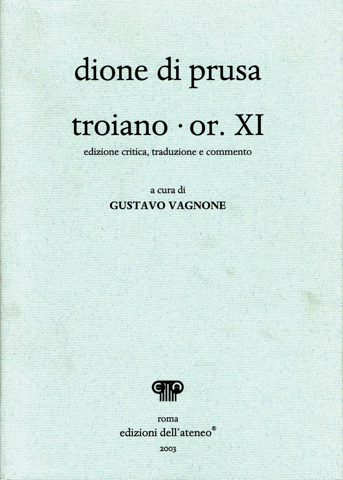 Troiano - Orazione XI