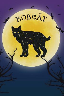 Bobcat Lynx Notebook Halloween Journal