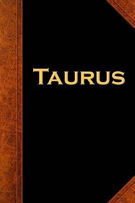 Taurus Zodiac Horoscope Vintage Journal