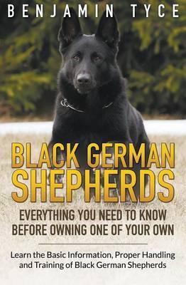 Black German Shepherds