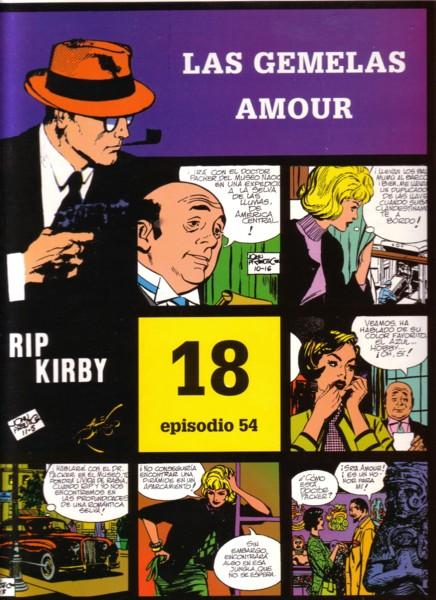 Rip Kirby #54: Las gemelas Amour